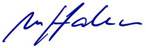 Unterschrift Matthias